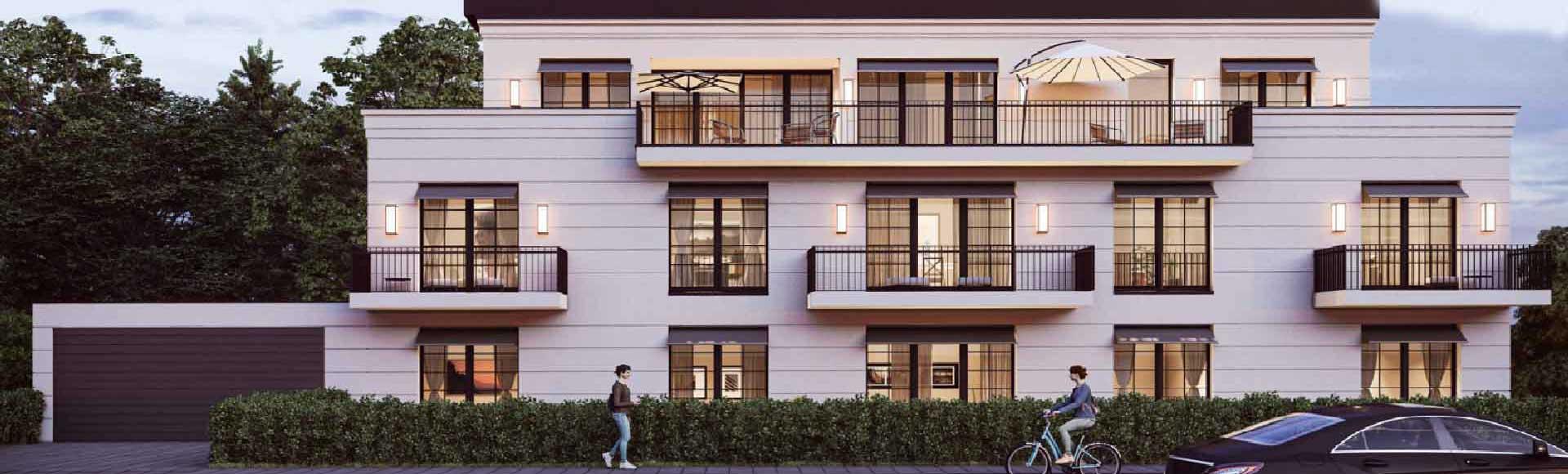 Innenarchitektur für ein Mehrfamilienhaus